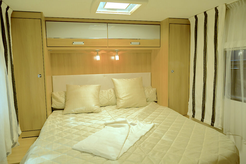 RV Bedroom Interior