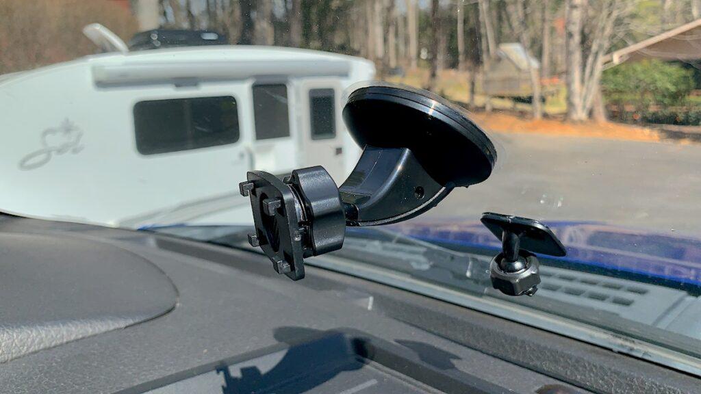 Backup Camera Monitor Bracket