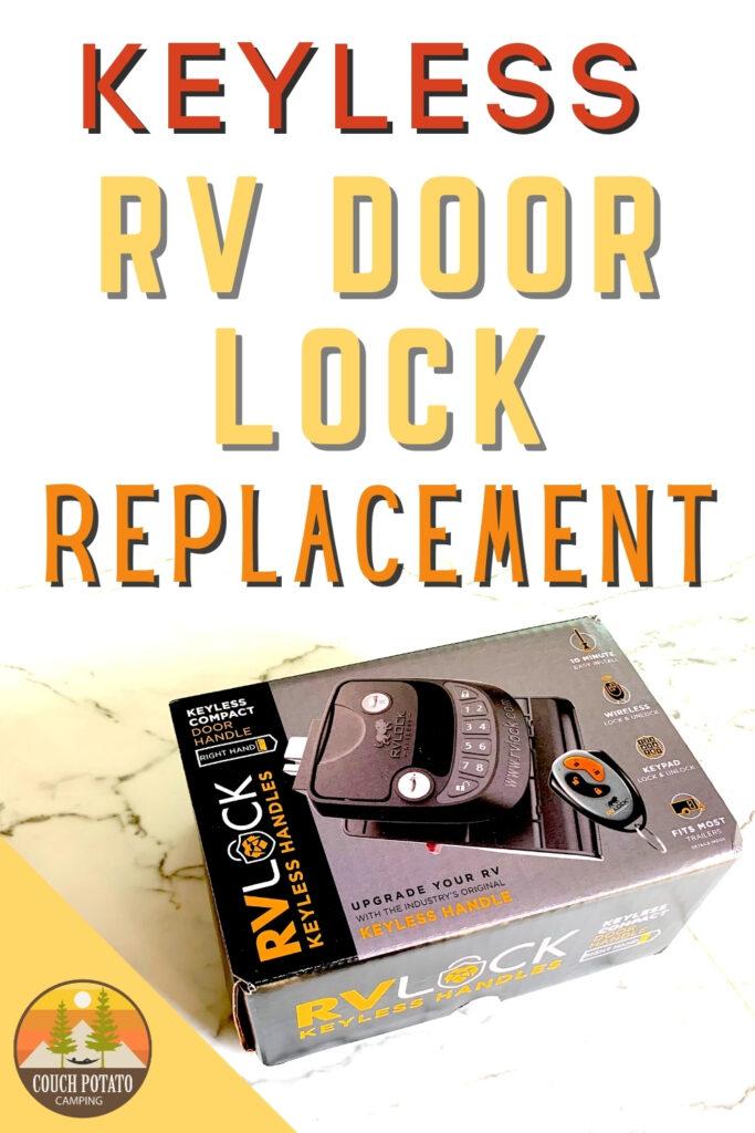 Keyless RV Door Lock Replacement