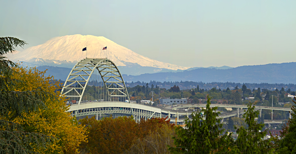 Fremont Bridge Portland Oregon