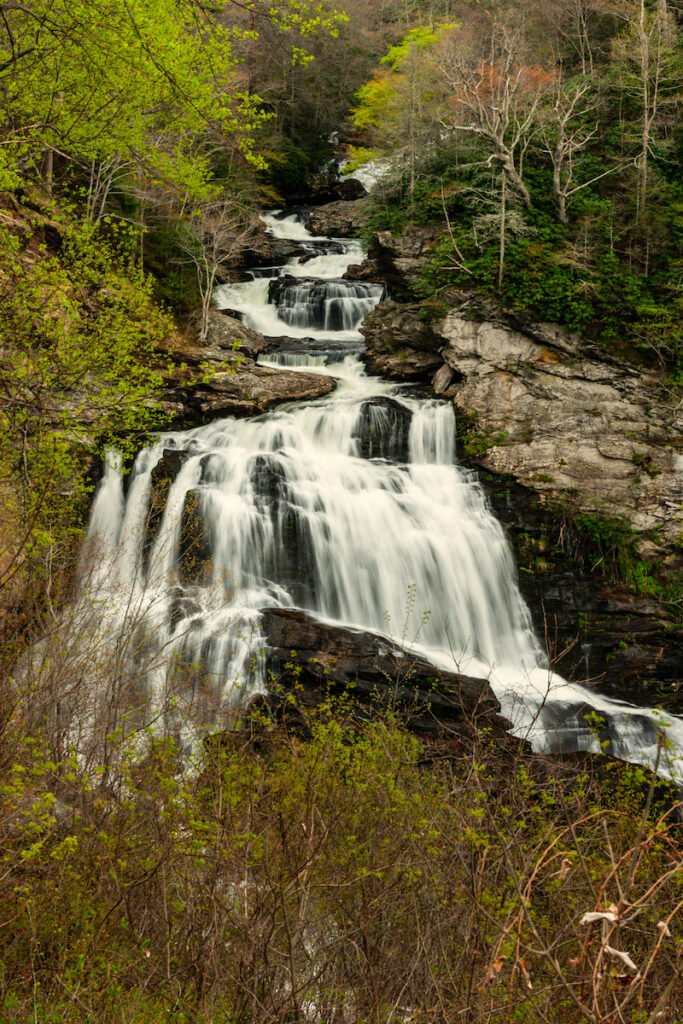 Nantahala National Forest Cullasaja Falls