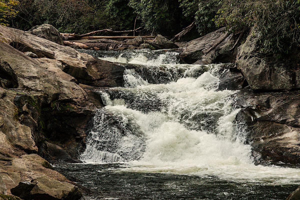Nantahala National Forest Quarry Falls