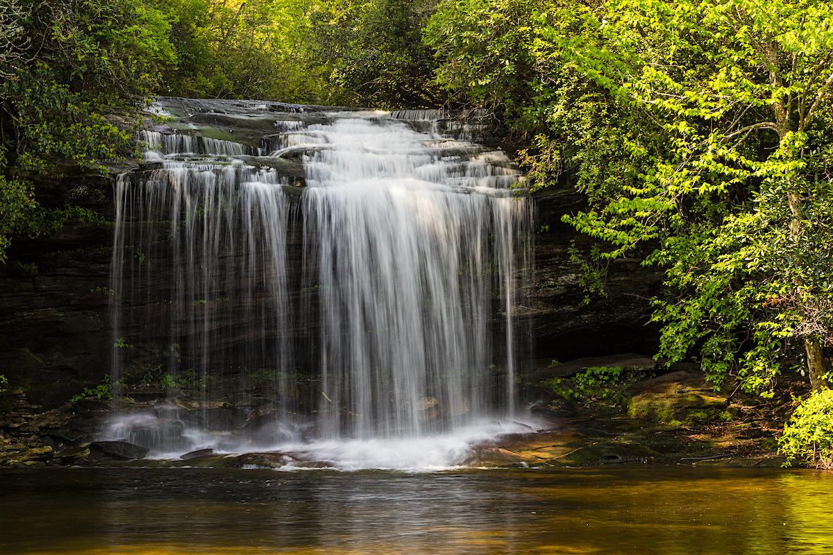 Nantahala National Forest Schoolhouse Falls