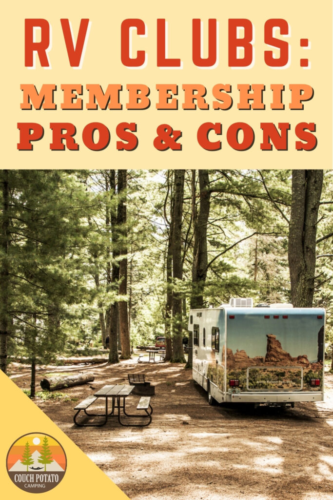 RV Clubs Membership Comparison
