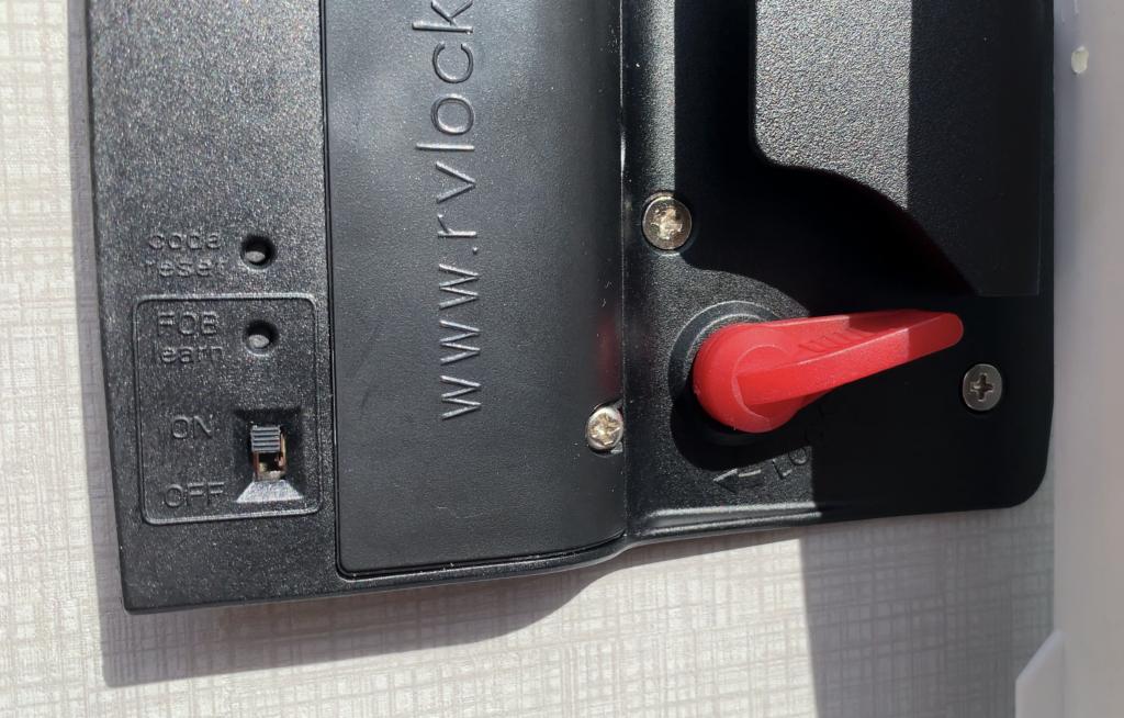 RV Lock Installation Step 6