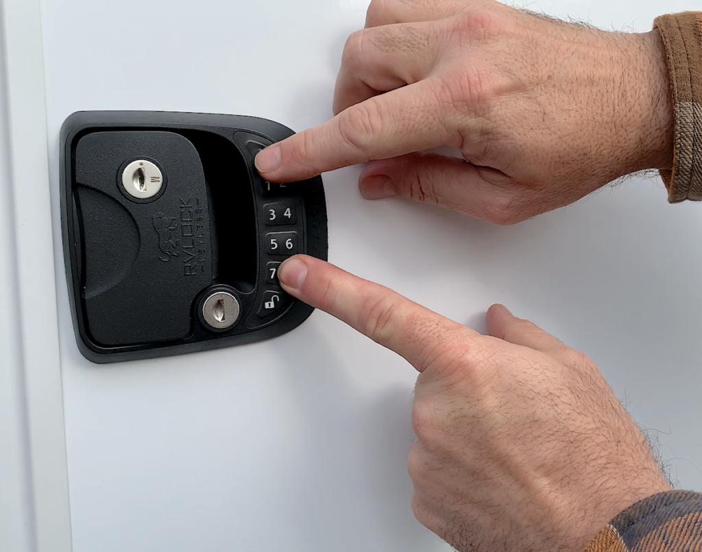 RV Lock Installation Step 8A
